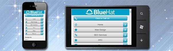 BlueHat Mobile Responsive