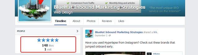 Classement Facebook entreprise